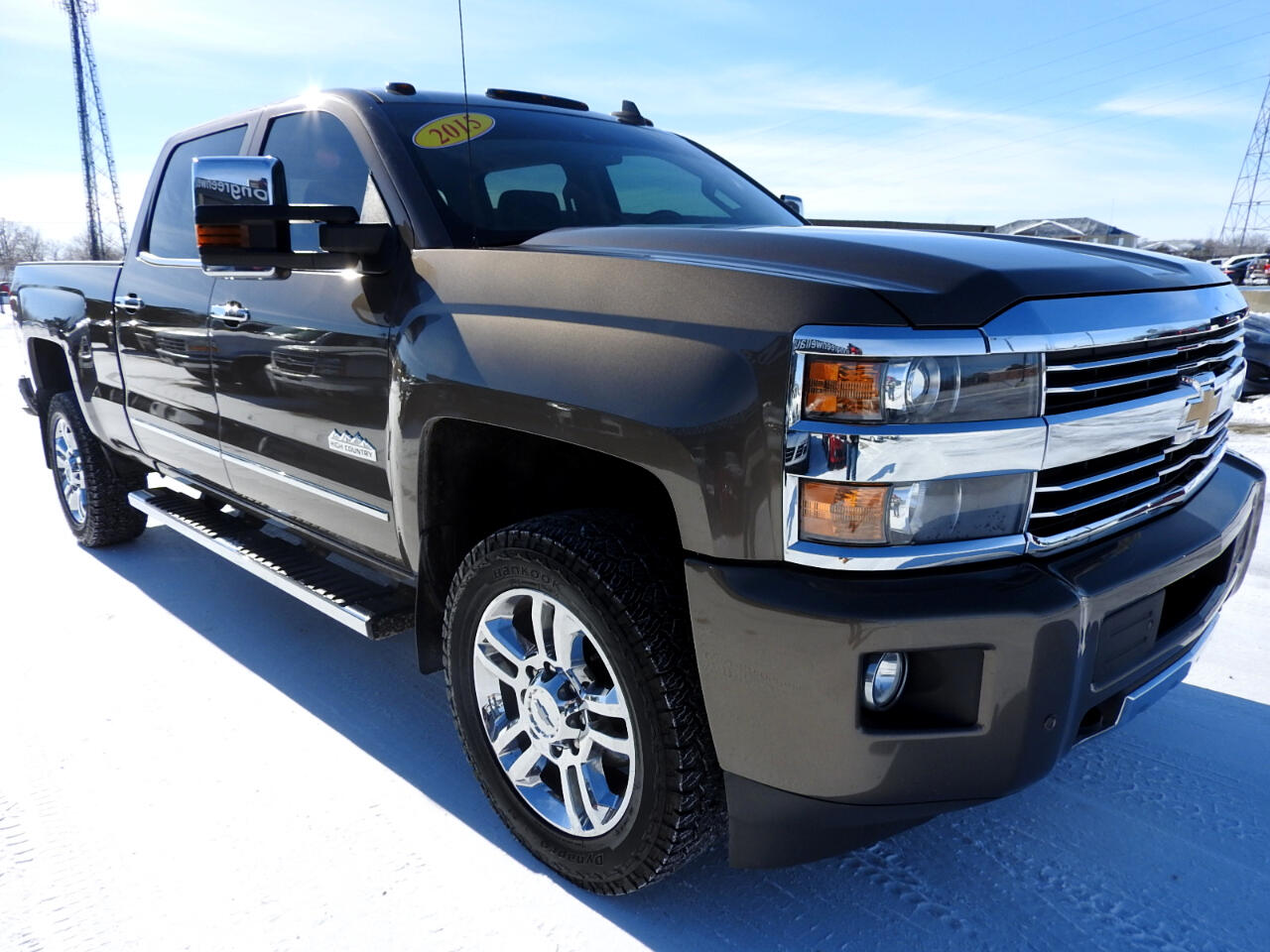 2015 Chevrolet Silverado 2500HD 4WD Crew Cab High Country