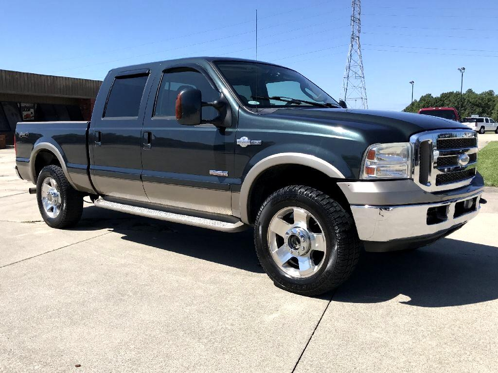 Ford F-250 SD King Ranch Crew Cab 4WD 2007