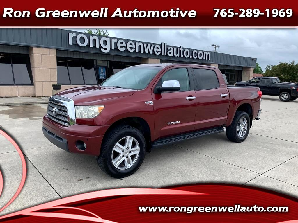 Toyota Tundra 4WD Truck CrewMax 5.7L V8 6-Spd AT LTD (Natl) 2008