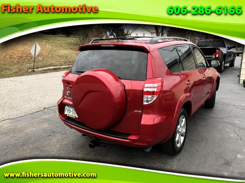 2009 Toyota RAV4 4WD 4dr 4-cyl 4-Spd AT Ltd (Natl)
