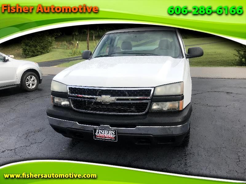 """Chevrolet Silverado 1500 Reg Cab 119.0"""" WB 4WD Work Truck 2006"""