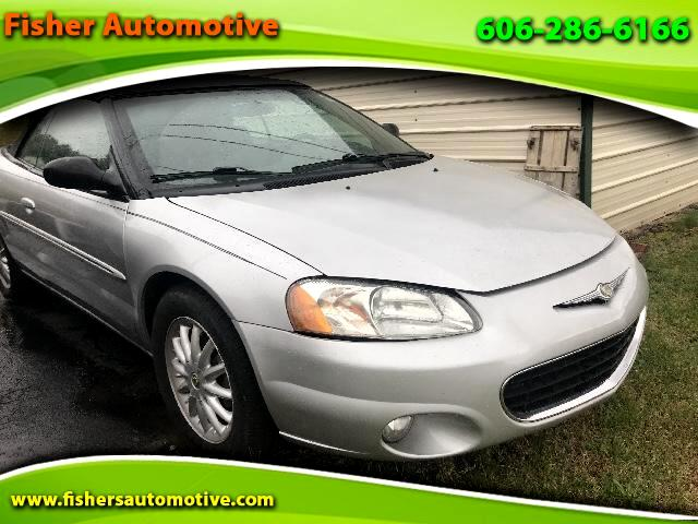 used 2002 chrysler sebring lxi convertible for sale in. Black Bedroom Furniture Sets. Home Design Ideas
