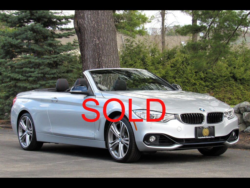 2015 BMW 4-Series 435i xDrive Sportline Convertible