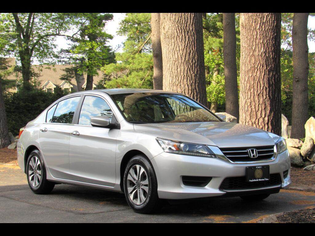 2014 Honda Accord LX Sedan 6-Spd MT