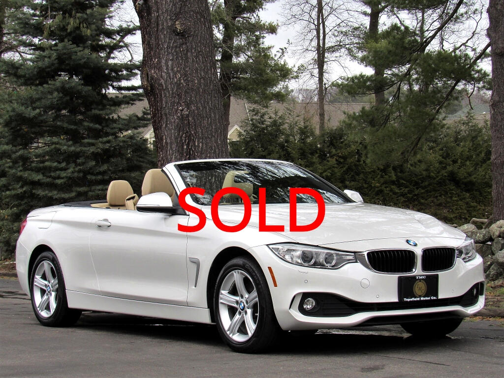 2015 BMW 4-Series 428i xDrive SULEV Convertible