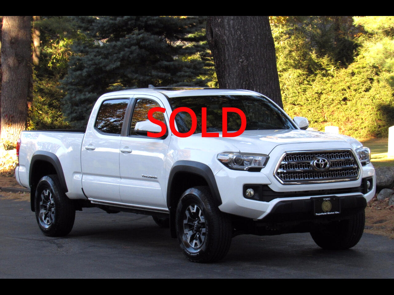 2016 Toyota Tacoma SR5 TRD OFF-ROAD 4X4 DOUBLE CAB LONG BED