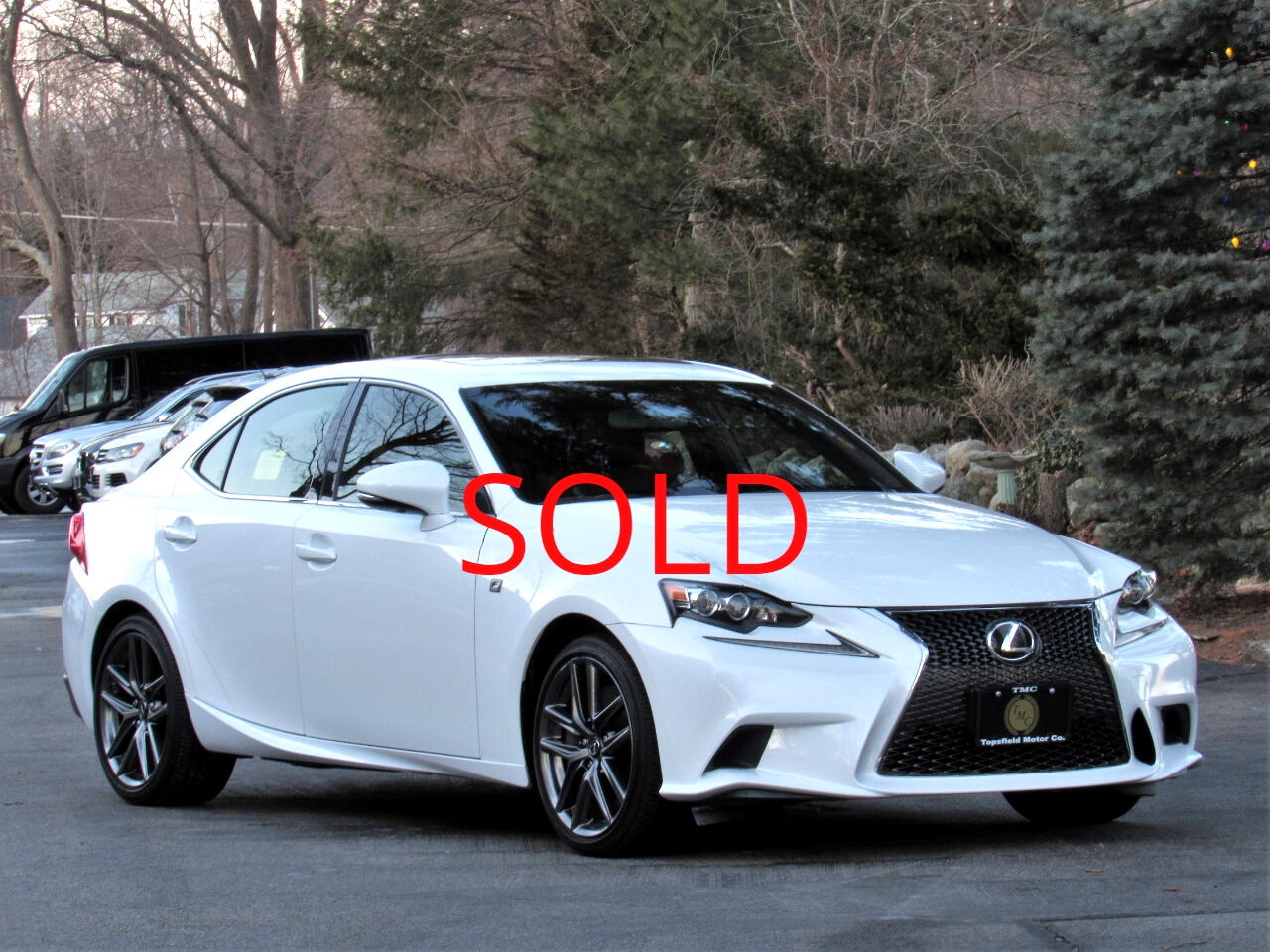 2014 Lexus IS 350  F-SPORT AWD