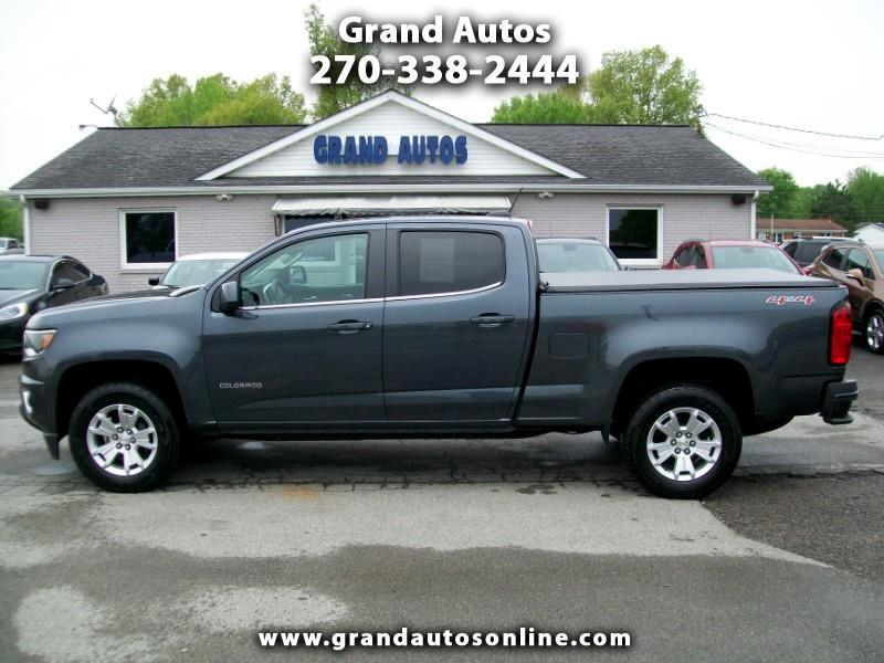 2017 Chevrolet Colorado LT Crew Cab 4WD Long Box