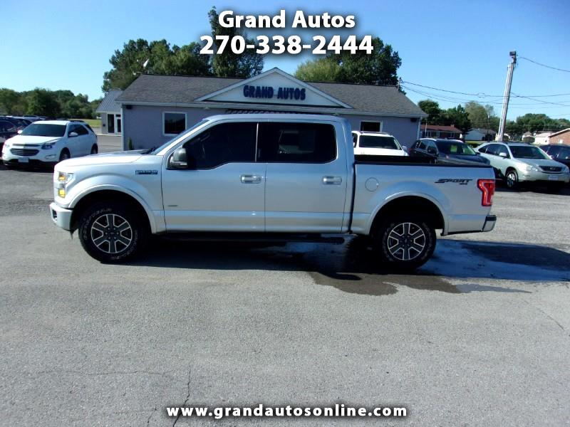 "2016 Ford F-150 4WD SuperCrew 150"" XLT"