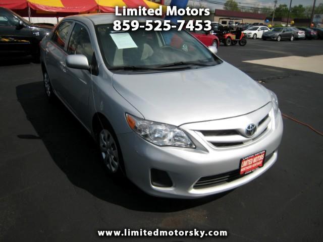 2013 Toyota Corolla L 4-Speed AT