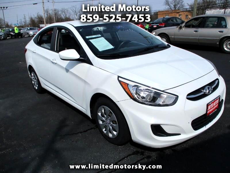 2015 Hyundai Accent GLS 4-Door 6A