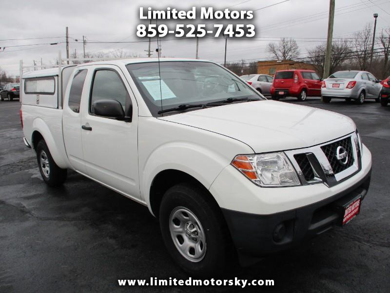 Nissan Frontier SV King Cab I4 5MT 2WD 2015