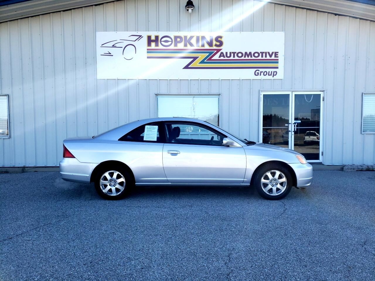 2003 Honda Civic 2dr Cpe EX Auto w/Side Airbags