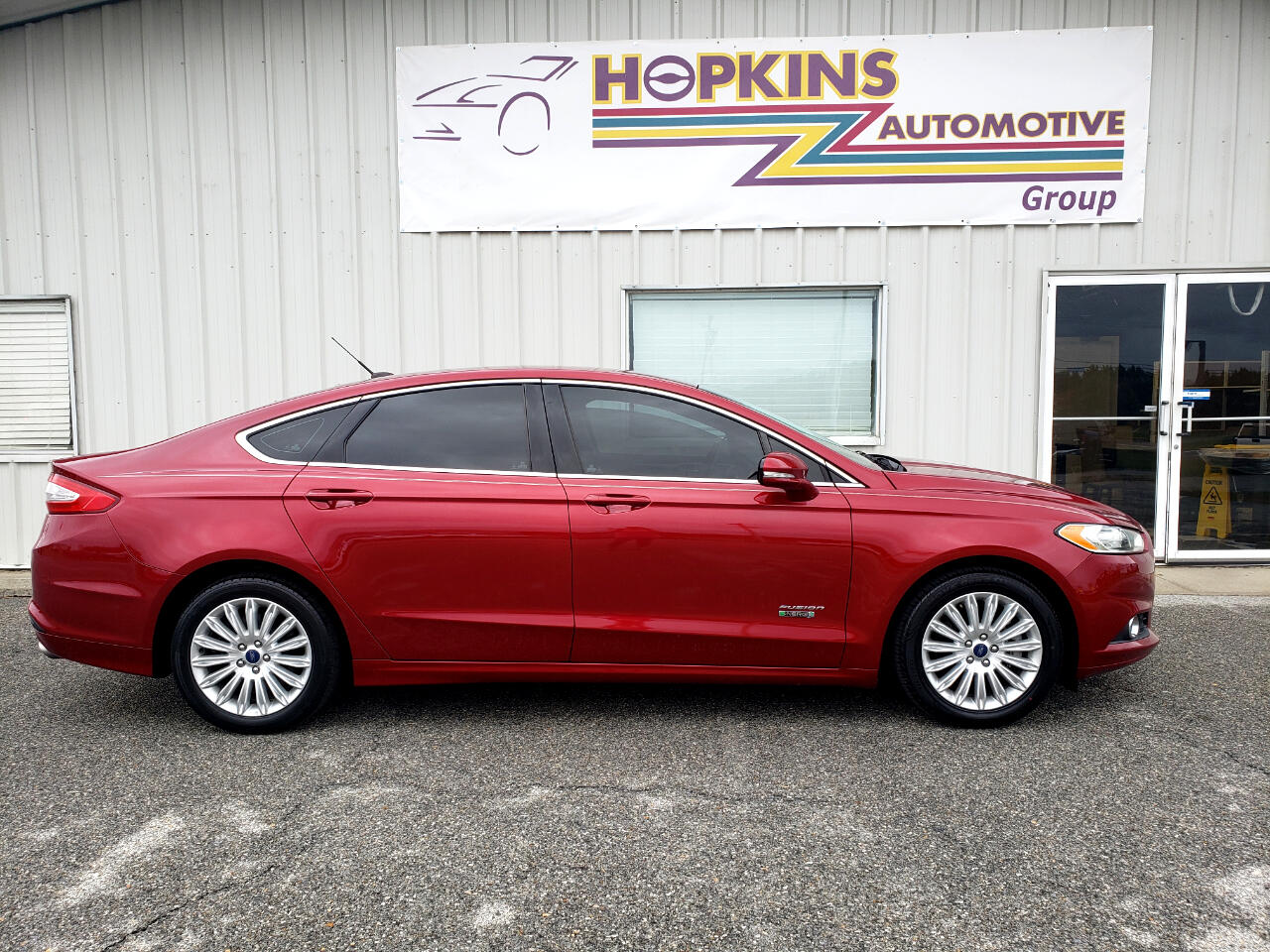 Ford Fusion Energi 4dr Sdn SE Luxury 2013