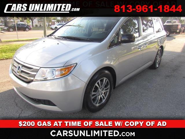 2012 Honda Odyssey 5dr EX-L RES w/DVD/Leather