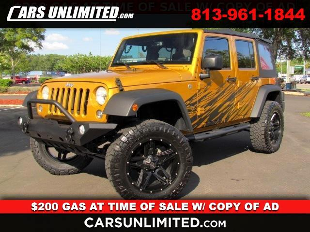 Jeep Wrangler Unlimited Sport 4D SUV 4WD 2014
