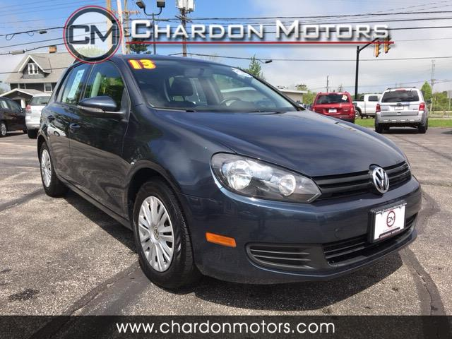 2013 Volkswagen Golf 2.5L 4-Door PZEV