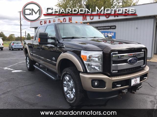 "2013 Ford Super Duty F-350 SRW 4WD Crew Cab 156"" King Ranch"