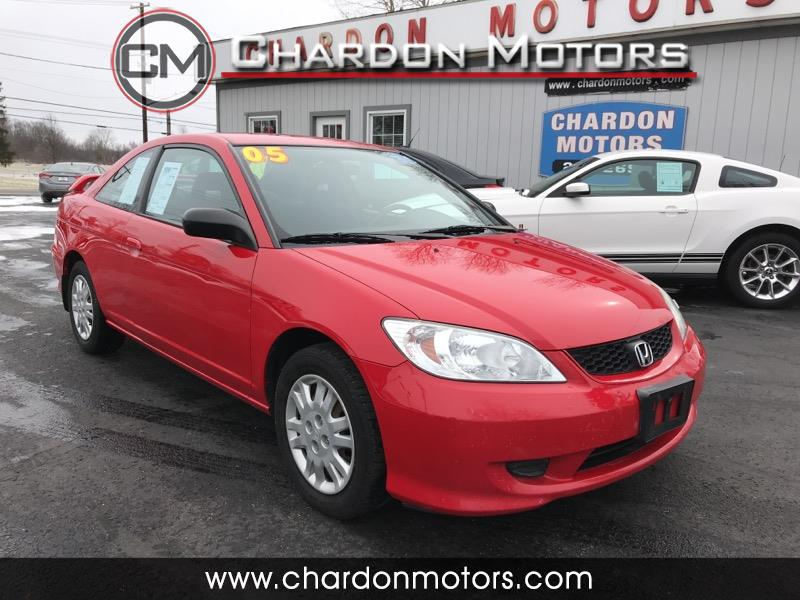 2005 Honda Civic Cpe LX AT