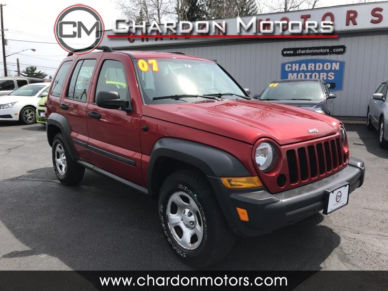 2007 Jeep Liberty 4WD 4dr Sport