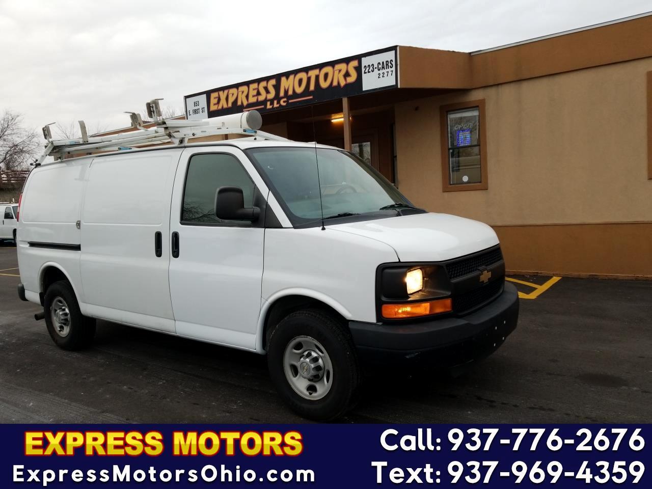 2013 Chevrolet Express Cargo Van RWD 3500 135