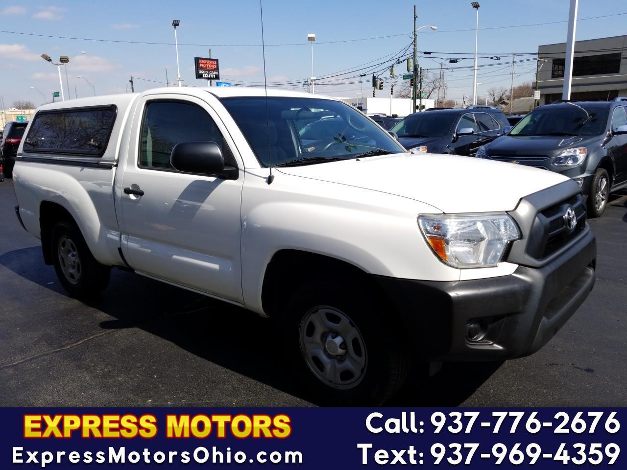 2014 Toyota Tacoma 2WD Reg Cab I4 MT (Natl)