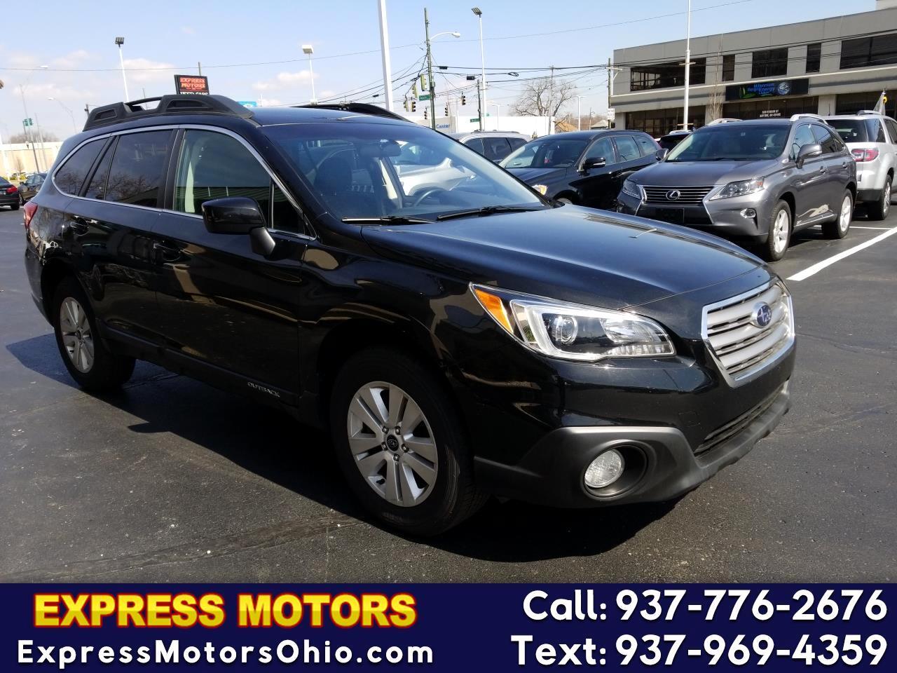 Subaru Of Dayton >> Used 2015 Subaru Outback For Sale In Dayton Oh 45405 Express Motors