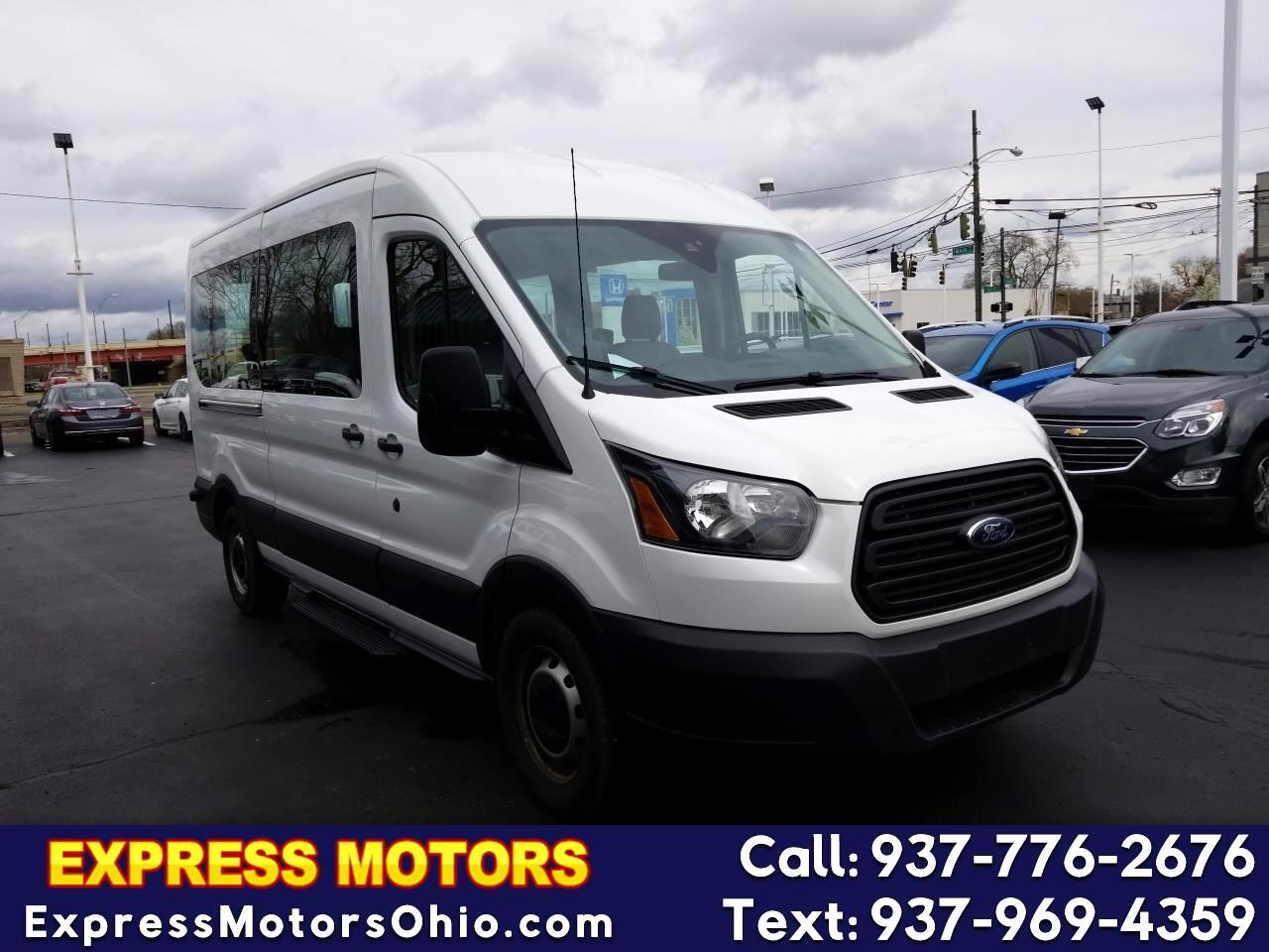 "2015 Ford Transit Wagon T-350 148"" Med Roof XLT Sliding RH Dr"