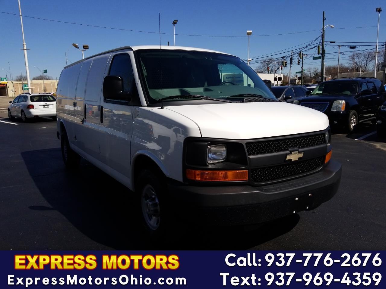 2014 Chevrolet Express Cargo Van RWD 3500 155