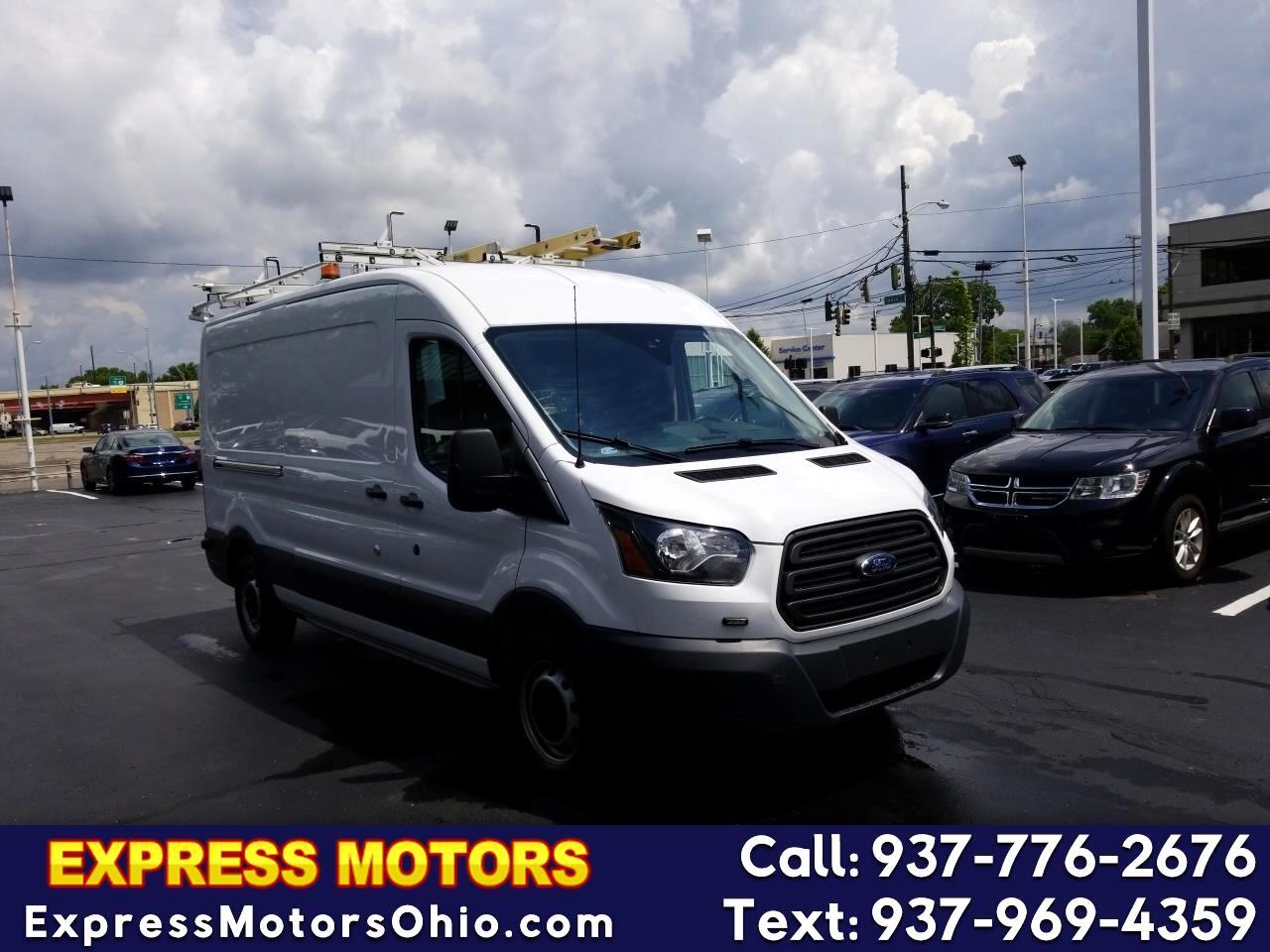 "2016 Ford Transit Cargo Van T-150 148"" Med Rf 8600 GVWR Sliding RH Dr"