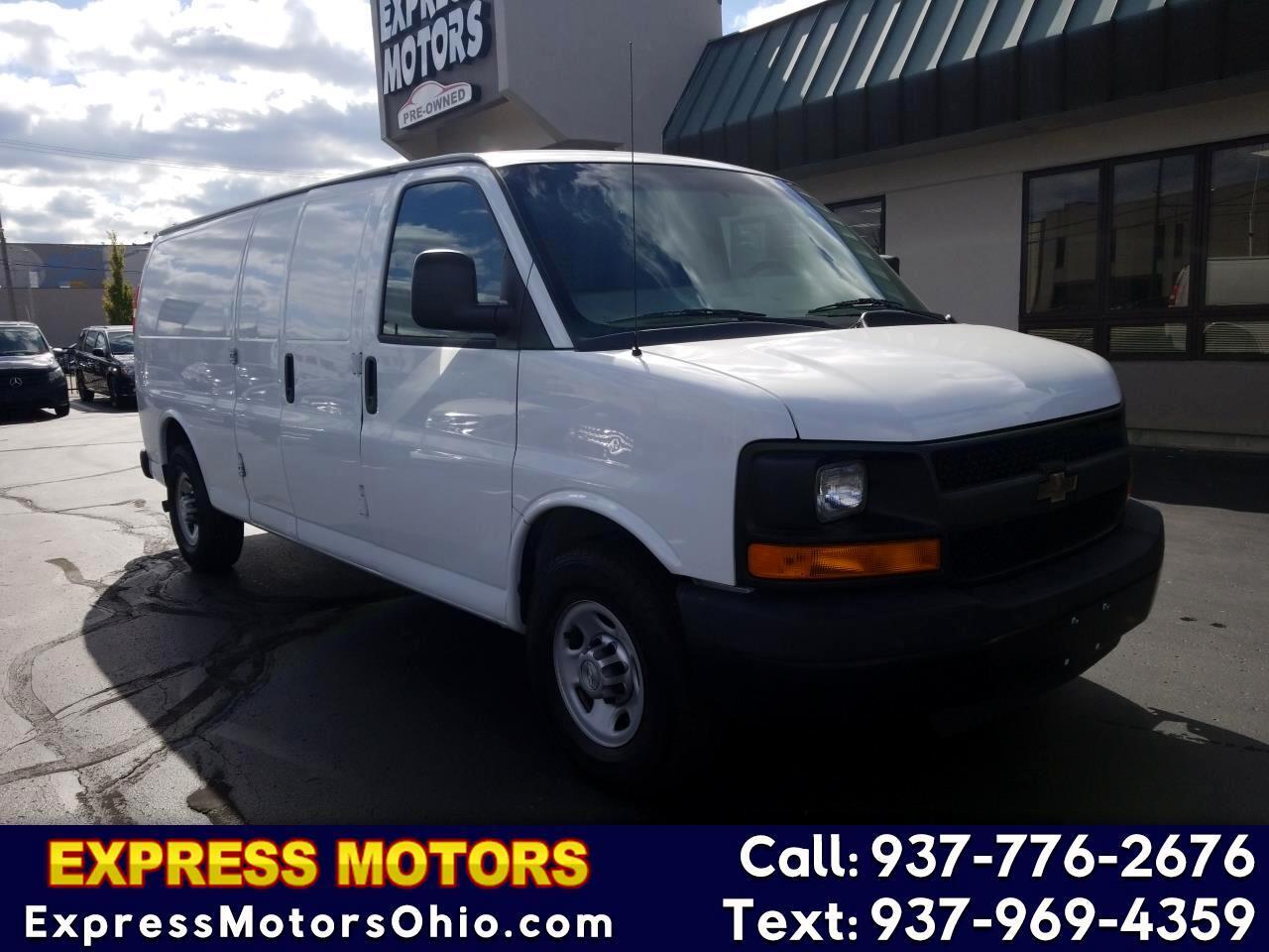 """Chevrolet Express Cargo Van RWD 2500 155"""" 2014"""