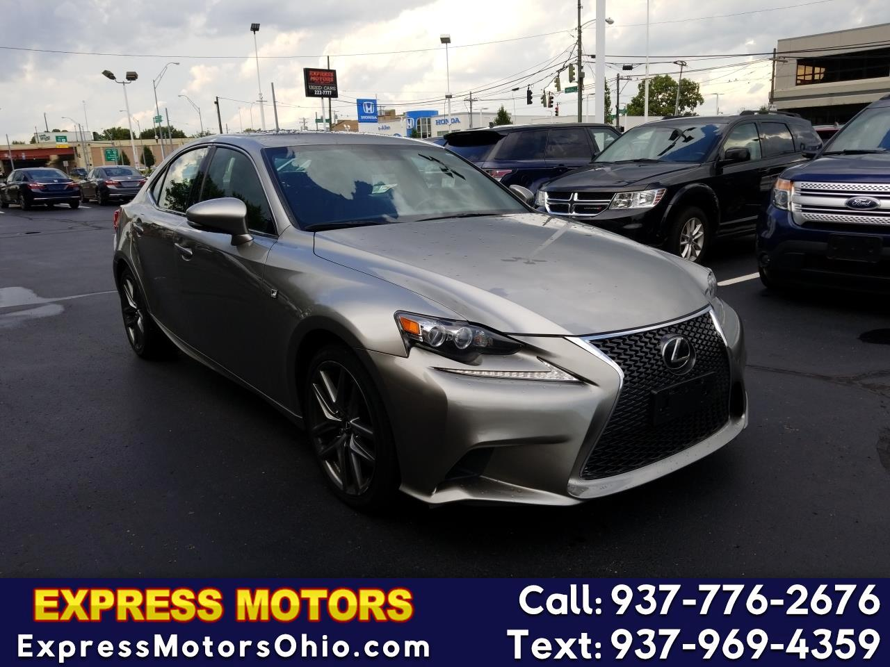 2015 Lexus IS 350 F SPORT AWD