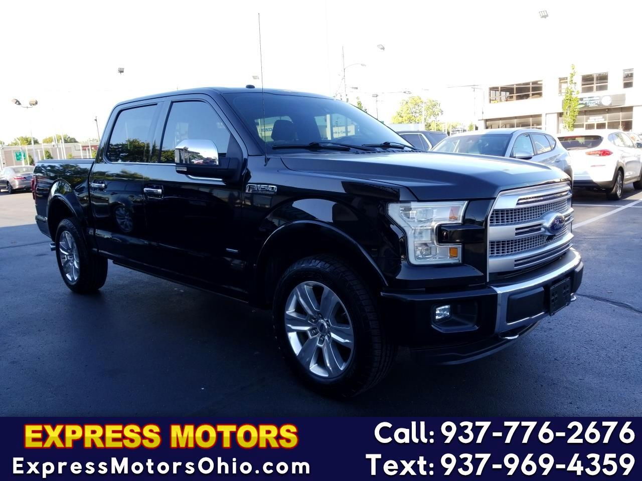 "Ford F-150 4WD SuperCrew 145"" Platinum 2016"