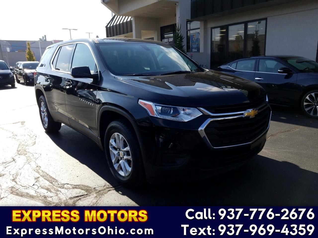 Chevrolet Traverse FWD 4dr LS w/1LS 2018