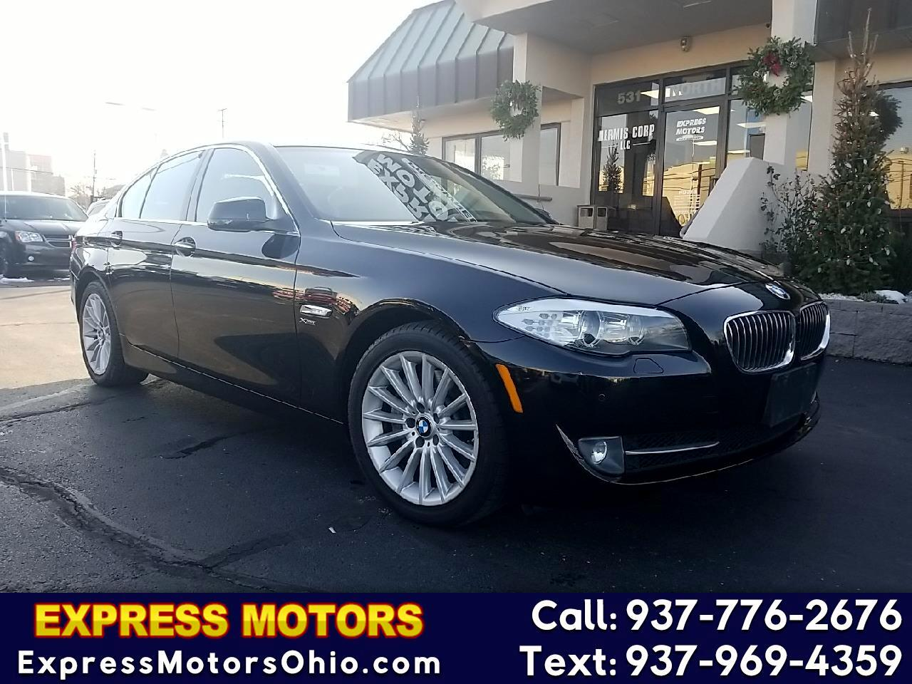 BMW 5 Series 4dr Sdn 535i xDrive AWD 2011