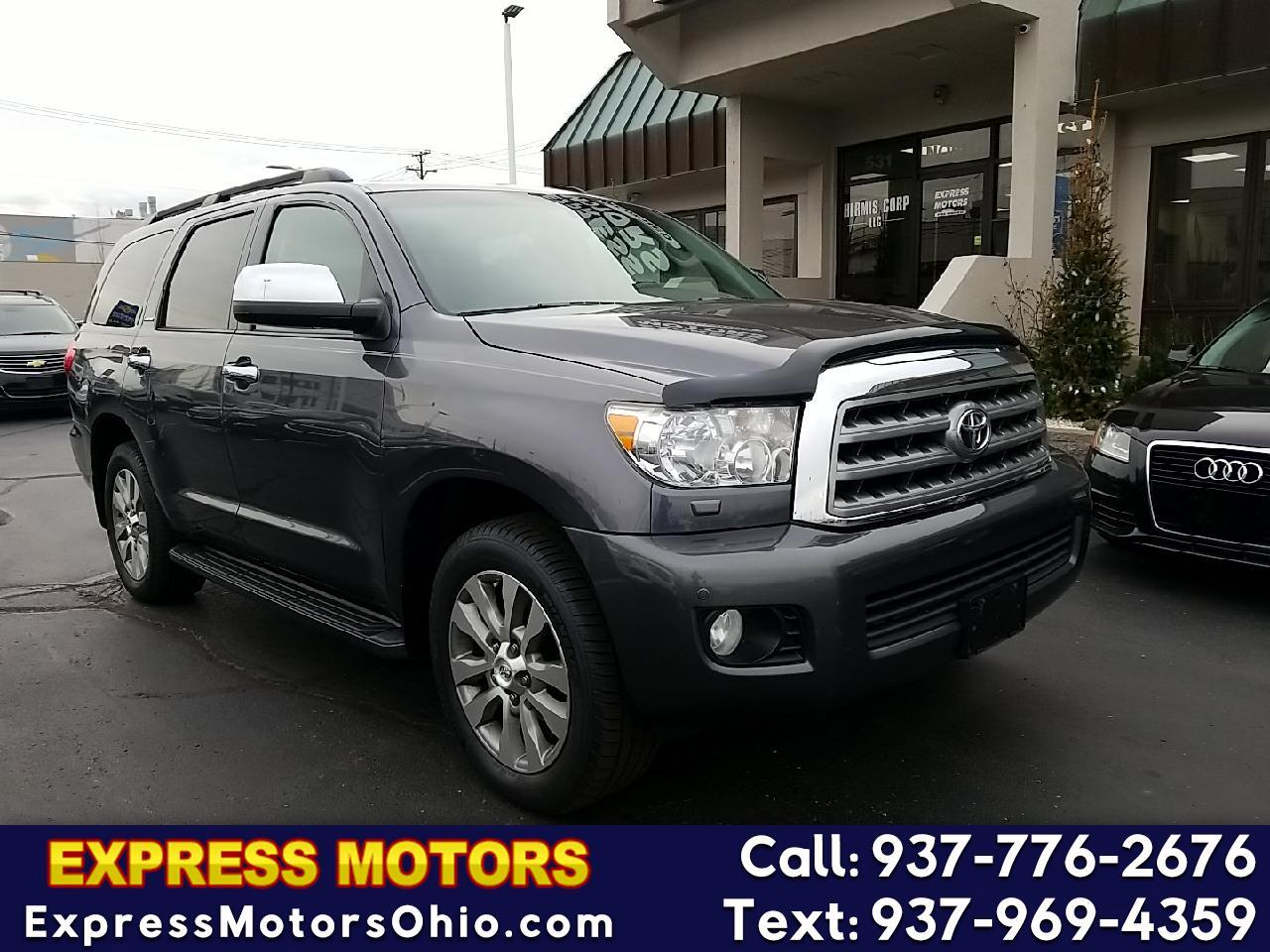 Toyota Sequoia 4WD LV8 6-Spd AT Ltd (Natl) 2011