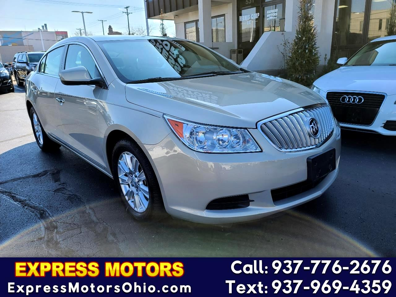 Buick LaCrosse 4dr Sdn Convenience FWD 2012