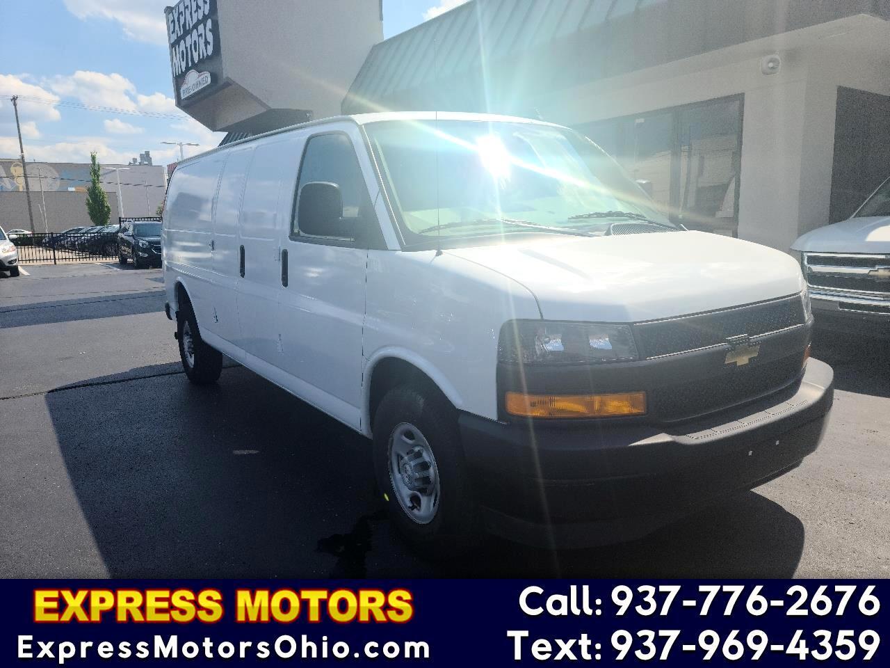 """Chevrolet Express Cargo Van RWD 2500 155"""" 2019"""