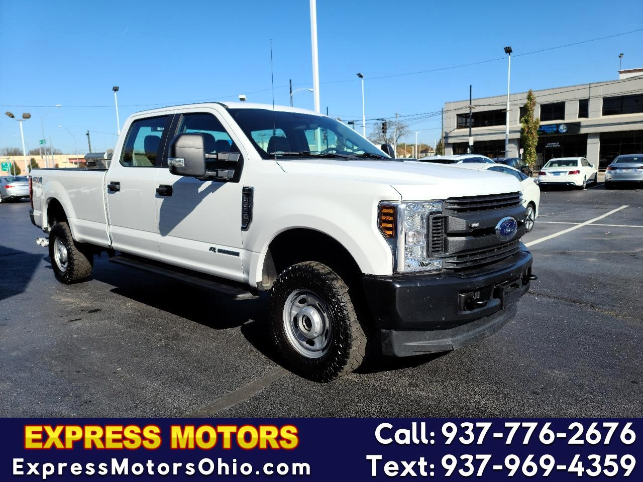 Ford Super Duty F-250 SRW XL 4WD Crew Cab 8' Box 2018
