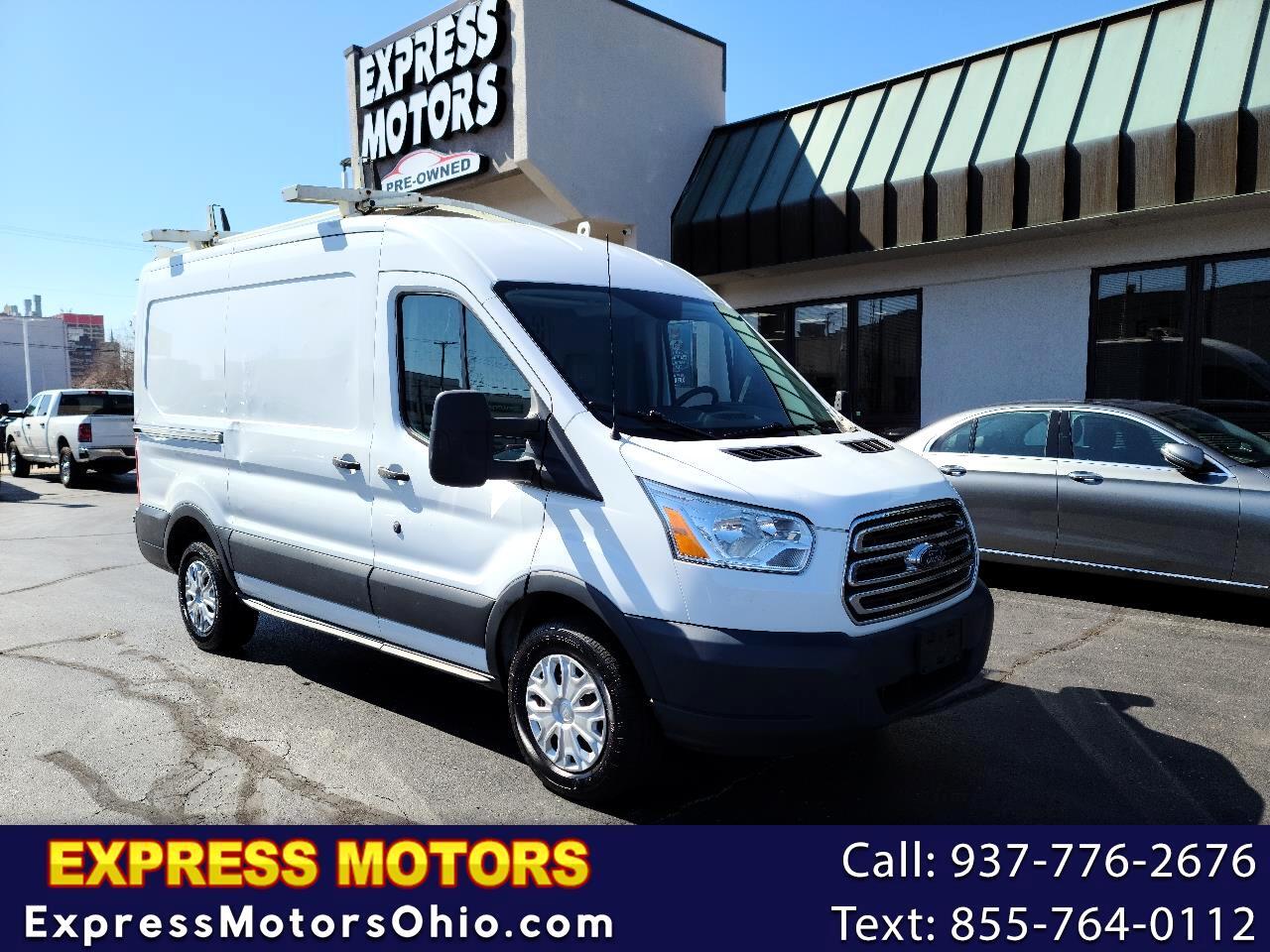 "Ford Transit Cargo Van T-250 130"" Med Rf 9000 GVWR Sliding RH Dr 2015"