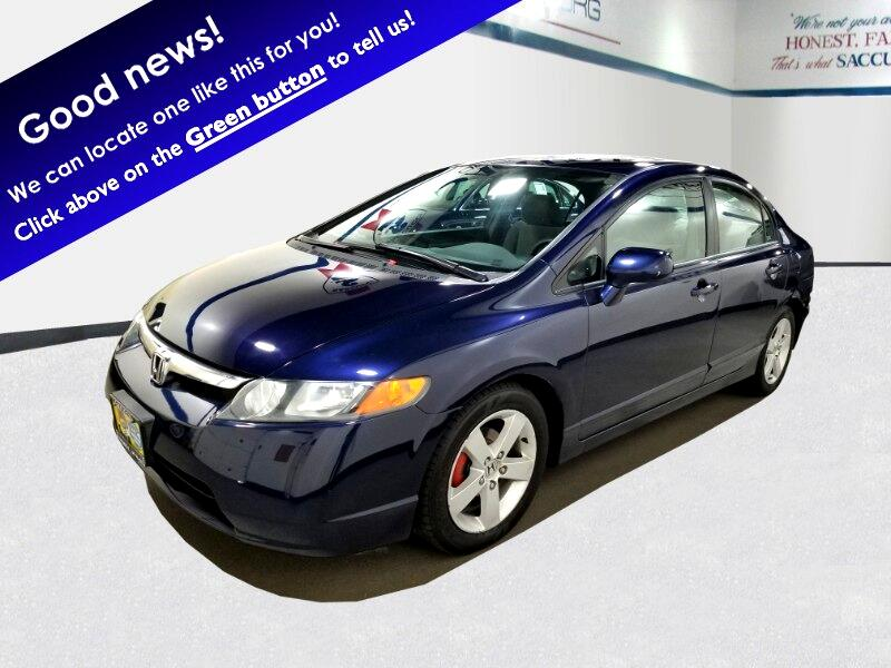 Honda Civic EX Sedan AT with Navigation 2007