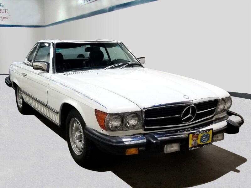 Mercedes-Benz 380 SL 1983