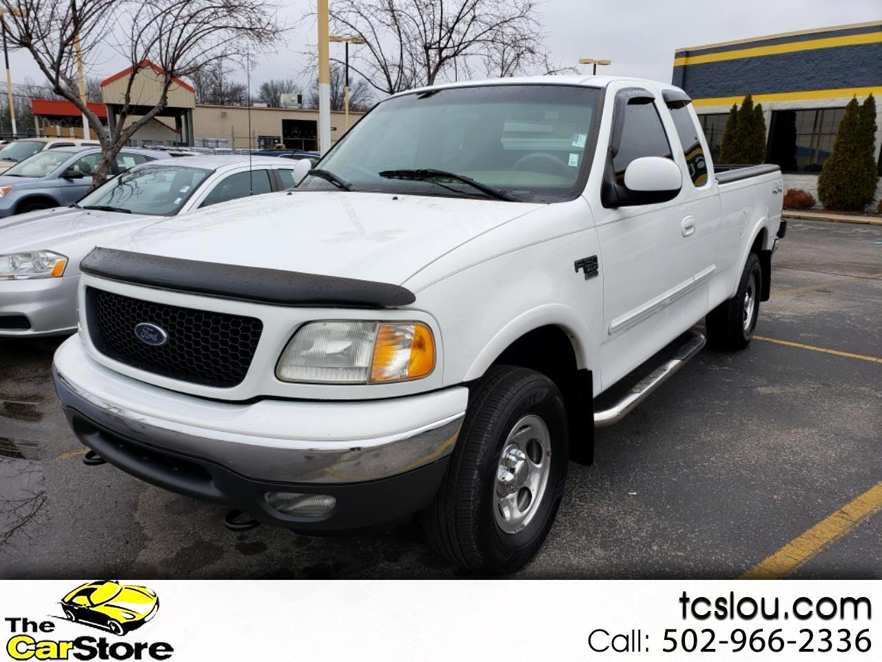 """2002 Ford F-150 Supercab 139"""" King Ranch 4WD"""