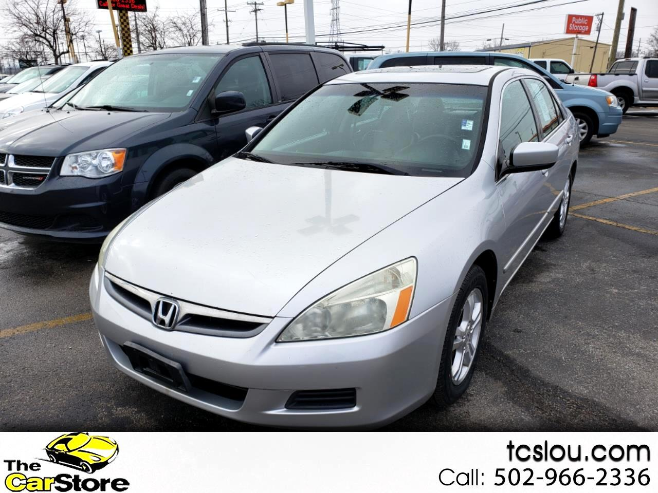 2007 Honda Accord Sdn 4dr I4 AT EX-L w/Navi