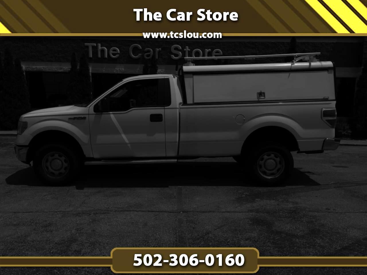 """Ford F-150 2WD Reg Cab 145"""" XLT 2013"""