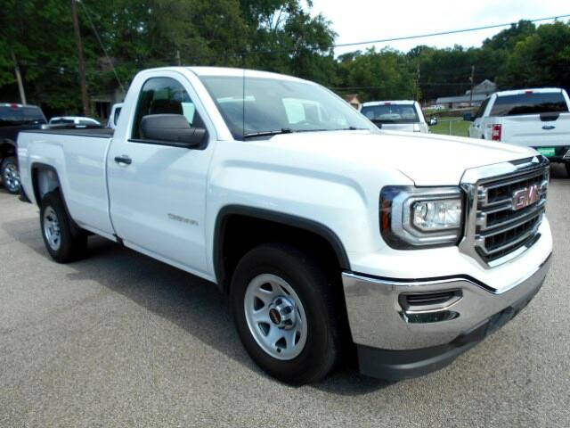 2017 GMC Sierra 1500 Reg. Cab 8-ft. Bed 2WD