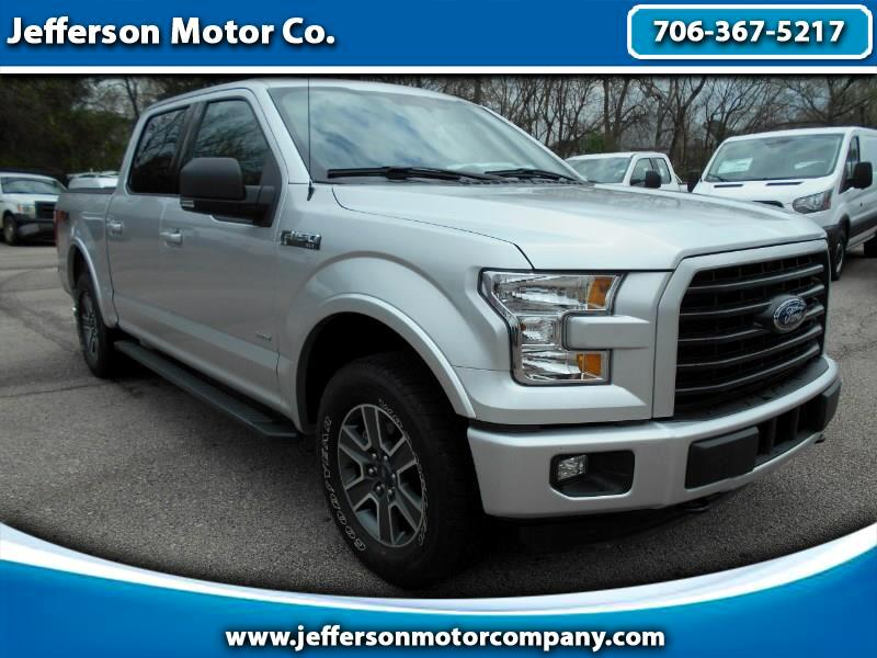 2016 Ford F-150 XLT SuperCrew Short Bed 4WD