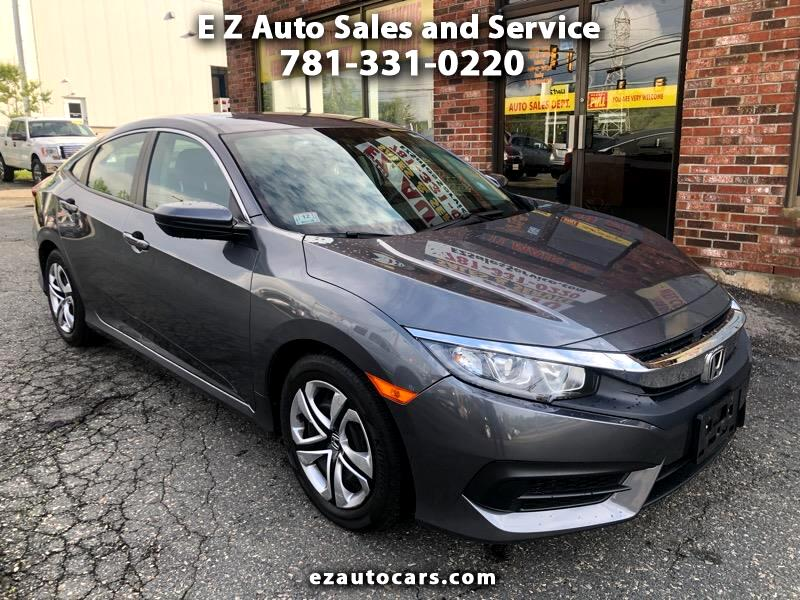 2017 Honda Civic LX Sedan CVT