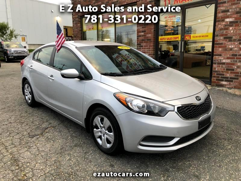 Ez Auto Sales >> Used 2016 Kia Forte Lx W Popular Package For Sale In