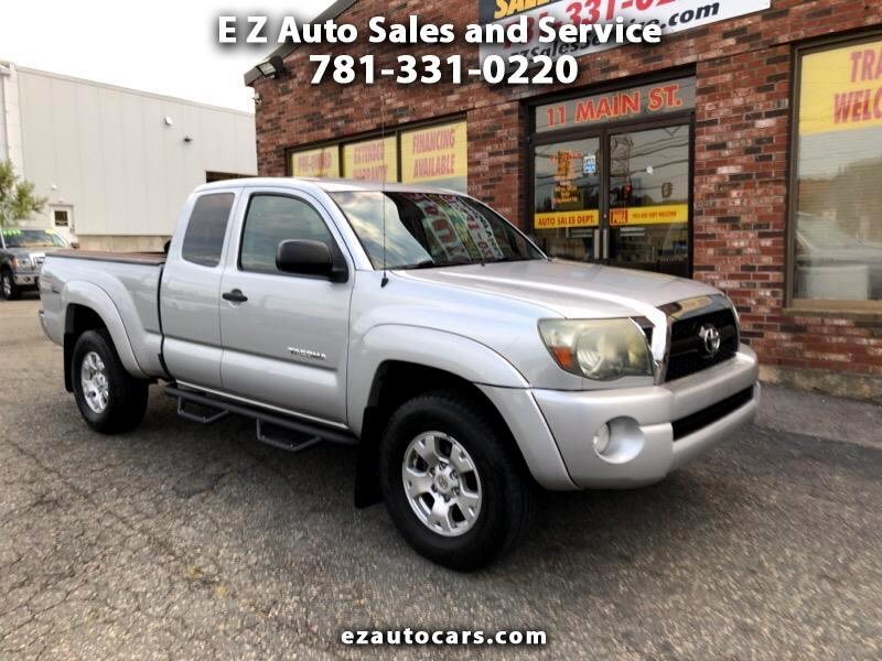 Toyota Tacoma 4WD Access Cab V6 AT SR5 (Natl) 2011